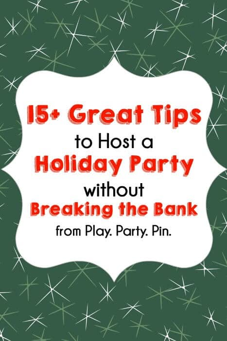 These are some of the best tips for party planning on a budget from playpartyplan.com! All great tips, but I especially love #5