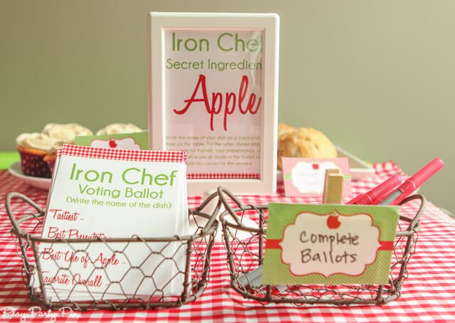 Iron chef party idea kind of like a bake-off