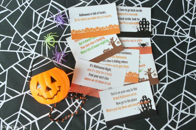 Free Printable Halloween Scavenger Hunt That S Perfect For