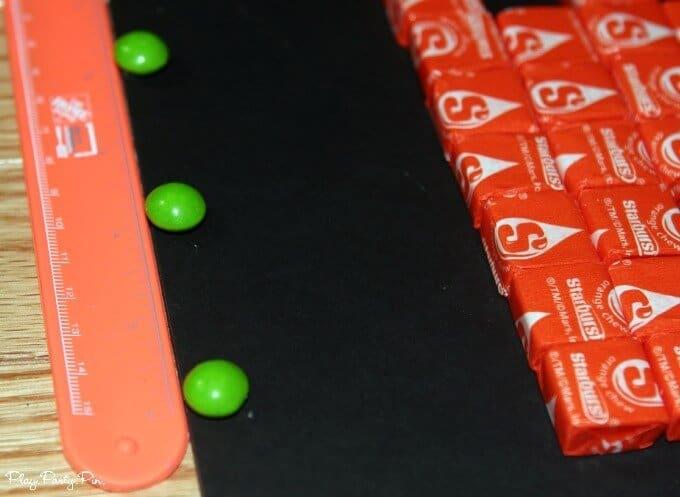 Measuring Skittle polka dots