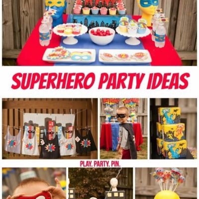 Super Superhero Party