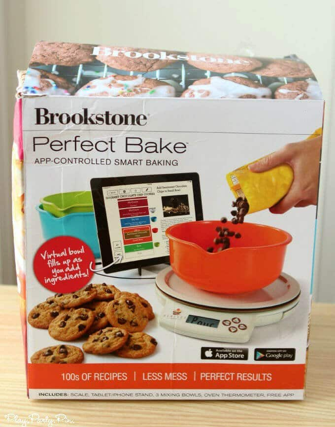 Perfect baking with brookstone and a giveaway play party pin for Perfect bake smart scale