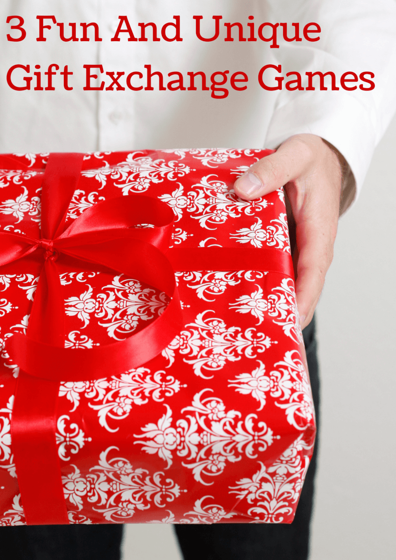 3 Fun & Unique Gift Exchange Games