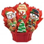 Christmas cookie bouquet from Cookies by Design