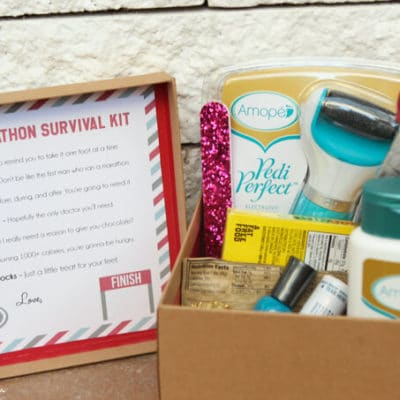 Half Marathon Survival & Pedicure Kit