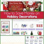 Five great ideas to save money on holiday decorations from playpartypin.com