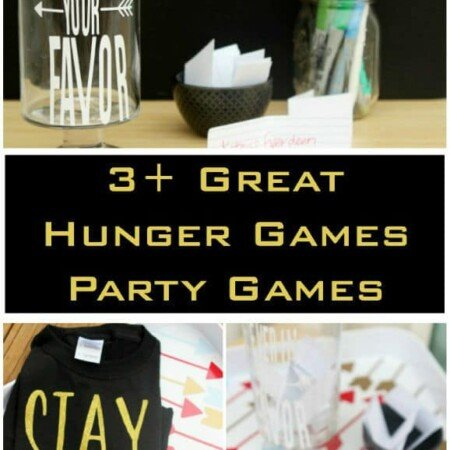 Three of the best Hunger Games party games that are so easy to setup and almost free, including a great Hunger Games trivia printable game