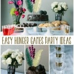 Hunger Games Party Ideas and Vase