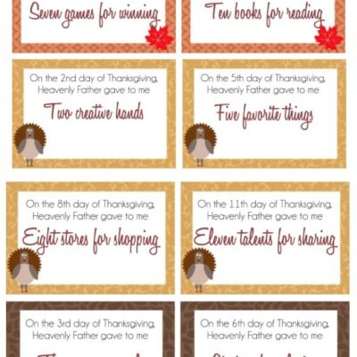 12 Days of Gratitude Activities for Kids