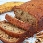 An easy and delicious banana bread recipe, perfect if you like banana walnut bread