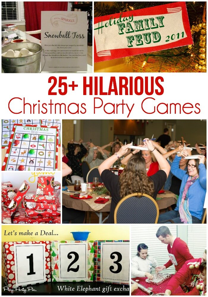 25 of the best christmas party games - Simple Plan Christmas Song