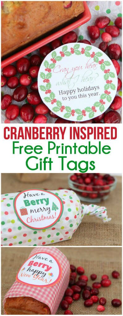 Have a Berry Free Holiday Printables