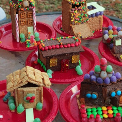 Graham Cracker Houses Decorating Party