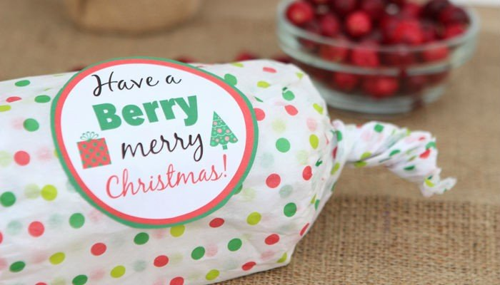 Have a Berry… Free Holiday Printables