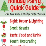 Five steps to easy holiday party planning, keep things simple with this holiday quick guide
