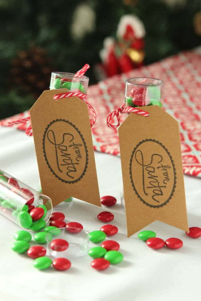 Christmas party favor idea