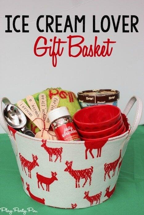 I Scream You Scream Gift Basket