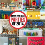 10 of the most popular parties of 2014 including all sorts of creative party themes and traditional ones