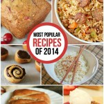 10 of the most popular recipes from 2014 on www.playpartypin.com