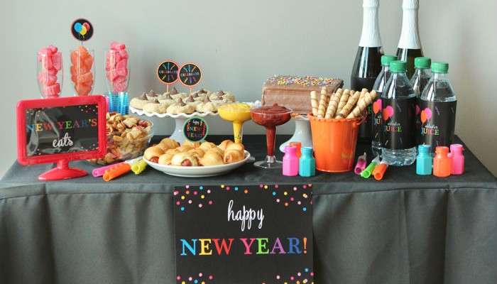 Bright New Year's Eve Party Ideas