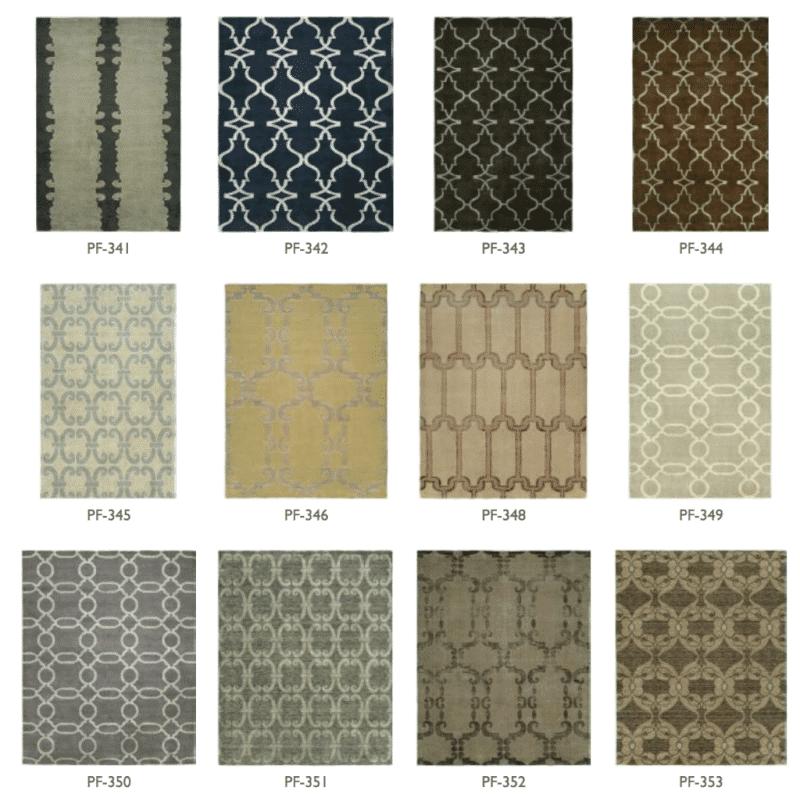 Kalaty contemporary rug options