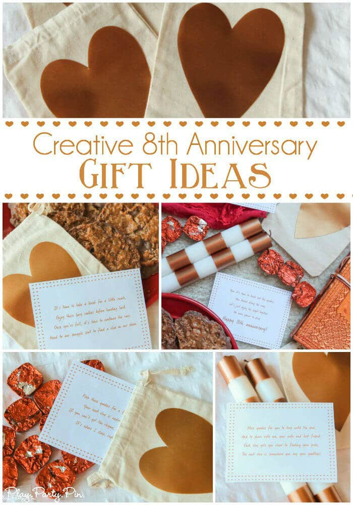 Traditional One Year Anniversary Gifts For Him : Creative 8th Anniversary Gift Ideas & The Freedom to Be Spontaneous