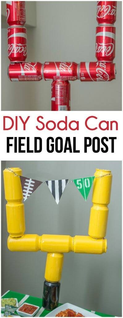 Diy football party decorations for Super bowl party items