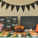Football Party Ideas with Goldfish Crackers