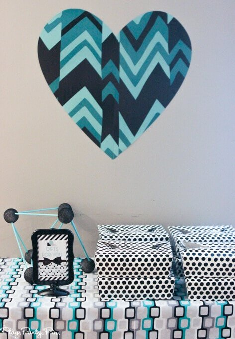 Geometric party ideas and a favorite things party all wrapped up in one pretty party