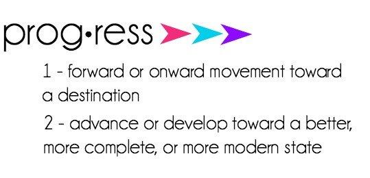 Definition of progress