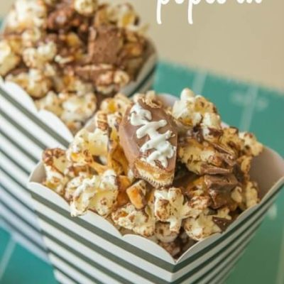 Game Day Treat: Snickers Popcorn Recipe