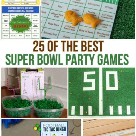 25 of the best Super Bowl party games out there from printable bingo cards to games that get your guests moving.