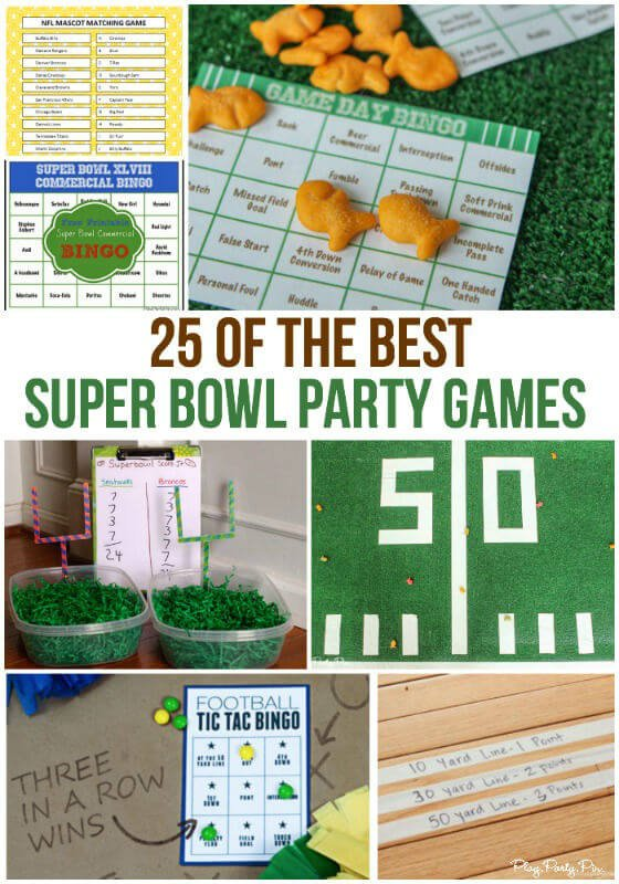 photo regarding Super Bowl Party Games Printable named 25 of the Simplest Tremendous Bowl Occasion Online games for Supporters of All Ages!