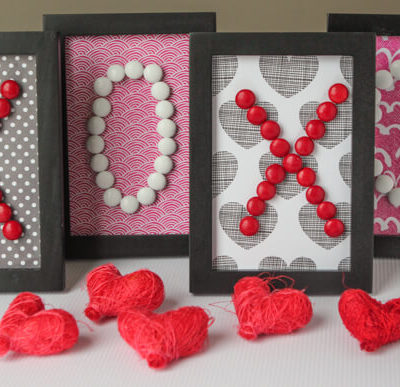 XOXO Valentine's Day Decorations