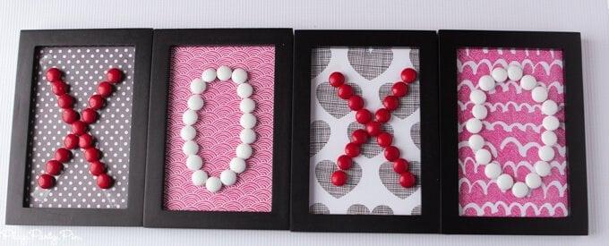 Easy Valentine's day decoration idea