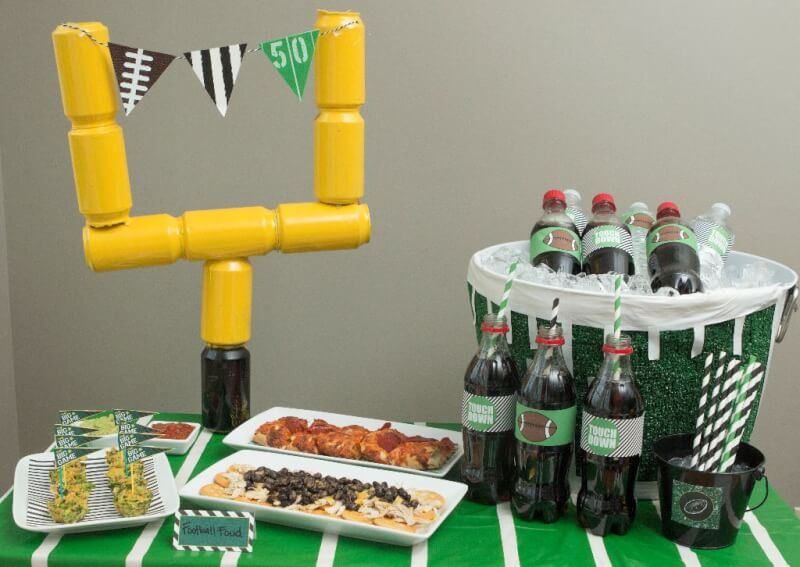 super entertaining ideas bowl decorations party best decor football