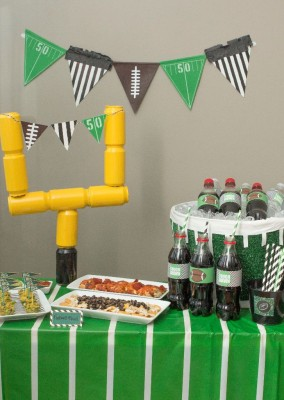 Game Day Party Ideas with Coke