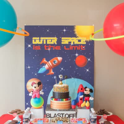 Disney Imagicademy Outer Space Party Ideas