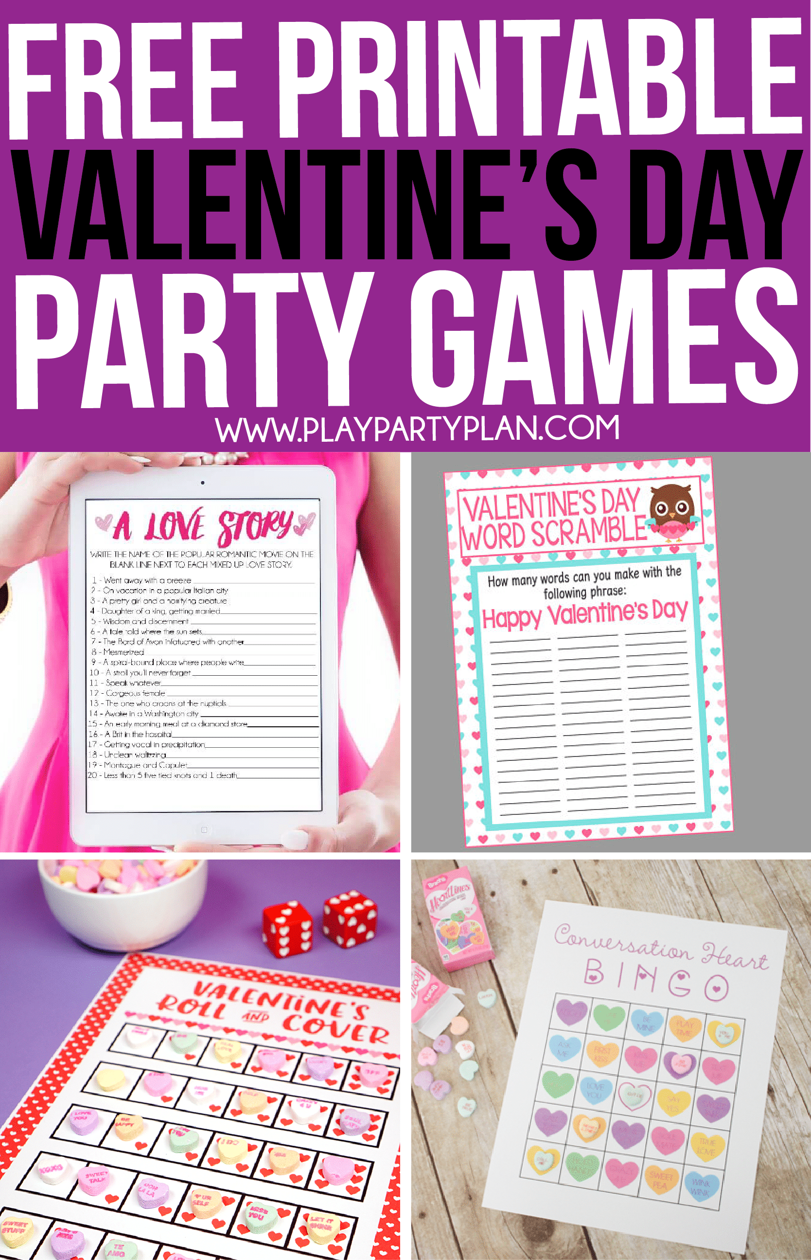 photo relating to Printable Games for Couples called 30 Valentines Working day Video games Absolutely everyone Will Unquestionably Appreciate