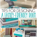 Tips for styling a family-friendly living room