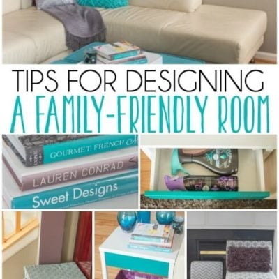 Five Tips for Designing a Room that's Family-Friendly