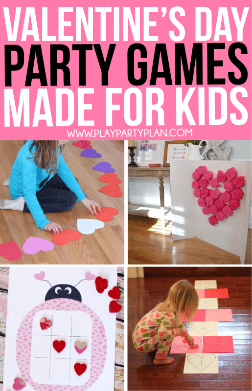 Great Valentine's Day games for kids classroom parties