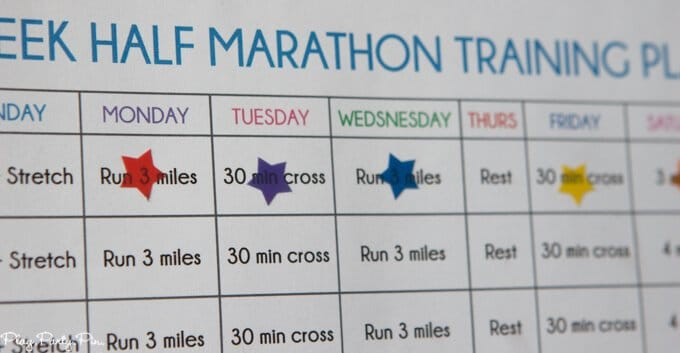 This half marathon training plan is perfect for your first or even 10th marathon. Love the printable half marathon training schedule and all of the great half marathon training tips! Tons of great half marathon training for beginners ideas.