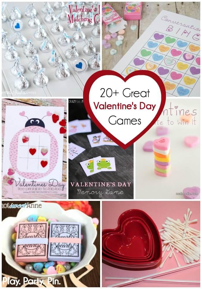 20+ Valentine's Day Games