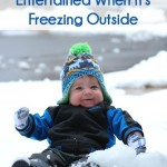 What to do with kids when it's freezing outside, great tips for keeping kids moving and winter activities for kids!