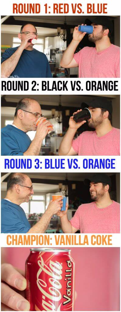 March Madness blind taste test!