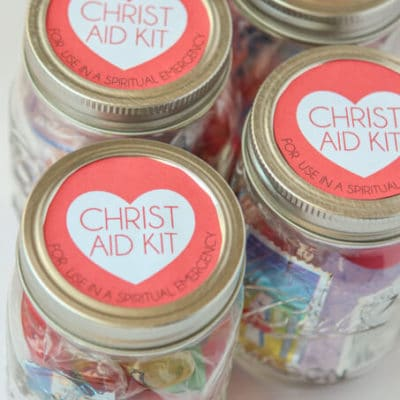 Come Follow Me Atonement Lesson Ideas: Christ Aid Kits
