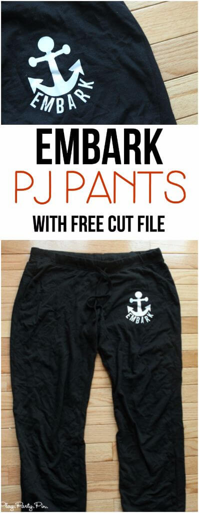 These DIY embark sweats or pajama pants are great young women's camp ideas and perfect for the mutual theme of embark in the service of God!