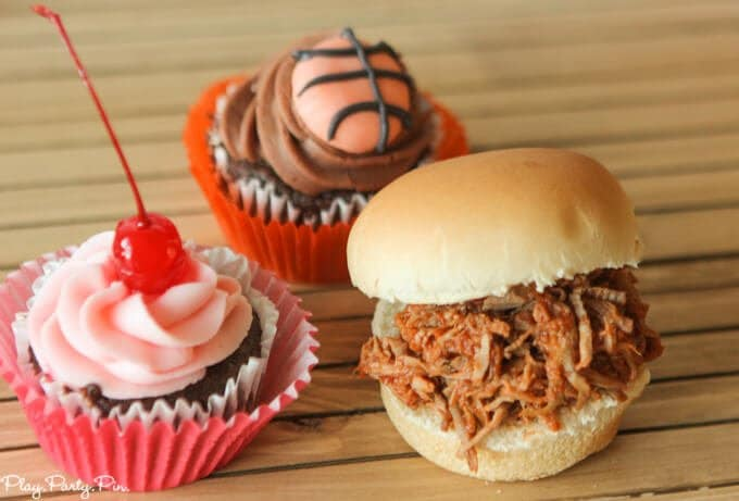 Coke pulled pork sliders from playpartyplan.com