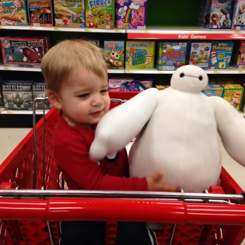 K and Baymax in Target